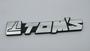 Car Badge Chrome emblem chrome badge - photo 1