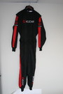 Kart Cordura Racing Suit three layer inside mesh and cotton lining.