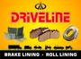 Driveline Brake Linings Roll Linings