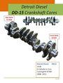 Detroit Diesel DD-15 Crankshaft Cores
