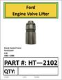 Ford Engine Valve Lifter 1.6 L (HT-2102)