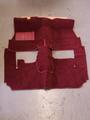 front/rear carpet burgundy