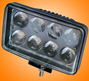 Headlight - 02-24W Square Heavy duty