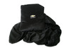 Black Chevrolet fleece pillow blanket