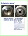 Brake Rotor - BRAKE ROTORS  MADE IN N. AMERICA