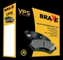 Disc Brake Pads - BRAXE- VPS brake pads packing