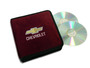 Burgundy Chevrolet CD  /  DVD Case
