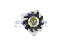 GAMMA 1D0006 - ALTERNATOR GMC BLAZER 88/93