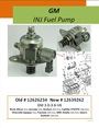 GM 3.6L INJ Fuel Pump 262
