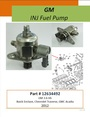GM 3.6L INJ Fuel Pump 492