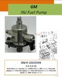 GM 3.6L INJ Fuel Pump 594