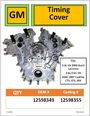 GM Timing Cover 2.8L/3.6L #349