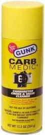 Engine Degreaser - Gunk Carb-Medic Carb & Choke Cleaner