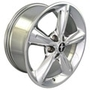 "Mustang 18"" Chrome OE Wheels - 5 Spoke"