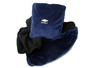 Navy Blue Chevrolet  fleece pillow blanket
