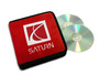 Red Saturn CD / DVD Case