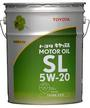 Toyota Genuine Motor Oil SL 5W-20,  20L