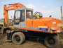 USED HITACHI EX100WDS, 160WDS WHEEL EXCAVATOR FOR SALE