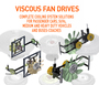 Viscous fan drives (Engine Cooling System)