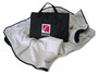 White Saturn  Weatherproof Travel Blanket